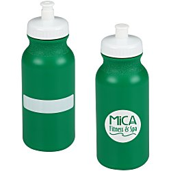 View a larger, more detailed picture of the ID Sport Bottle w Push Pull Cap - 20 oz