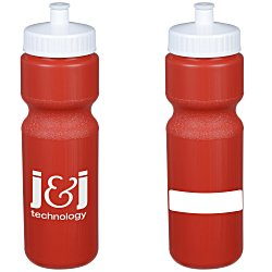 View a larger, more detailed picture of the ID Sport Bottle w Push Pull Cap - 28 oz