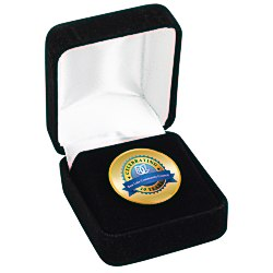 View a larger, more detailed picture of the Circle Lapel Pin w Gift Box