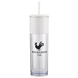 View a larger, more detailed picture of the Ice Cool Tumbler with Straw