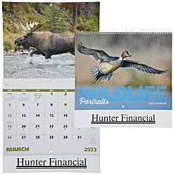 View a larger, more detailed picture of the Wildlife Portraits Calendar - Spiral - 24 hr