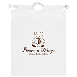 View a larger, more detailed picture of the Poly Bag w Cotton Drawstring - 12 x 9-1 2