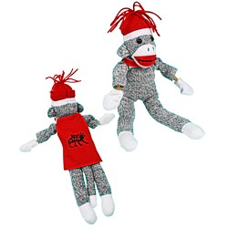 View a larger, more detailed picture of the Flying Shrieking Sock Monkey
