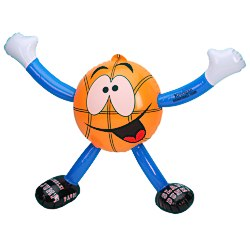 View a larger, more detailed picture of the Inflatable Sport Guys - Basketball