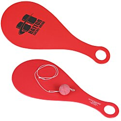 View a larger, more detailed picture of the Plastic Paddle Ball Game