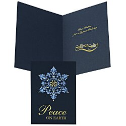 View a larger, more detailed picture of the Filigree Snowflake Greeting Card