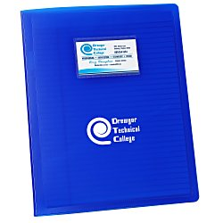 View a larger, more detailed picture of the Business Card Padfolio - 24 hr