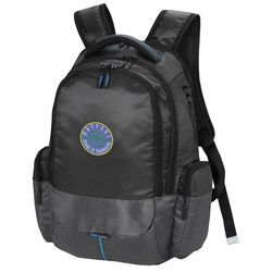 View a larger, more detailed picture of the Zoom Power2Go Checkpoint Friendly-Backpack - Embroidered