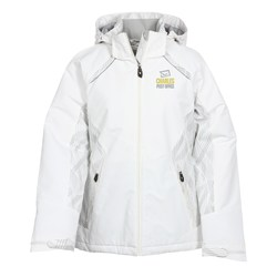View a larger, more detailed picture of the Linear Insulated Jacket - Ladies