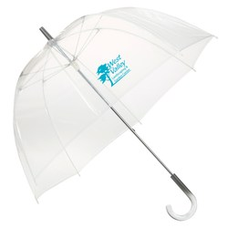 View a larger, more detailed picture of the Clear Bubble Umbrella - 48 Arc