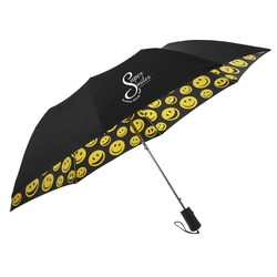 View a larger, more detailed picture of the Smiles Umbrella - 43 Arc