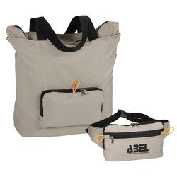 View a larger, more detailed picture of the Competi Foldable Tote-Waist Bag - Closeout