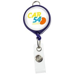 View a larger, more detailed picture of the Retractable Badge Holder w Lanyard Attachment