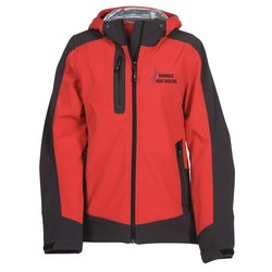 View a larger, more detailed picture of the Kangari Hooded Softshell Jacket - Ladies