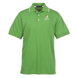 View a larger, more detailed picture of the Performance Tipped Polo - Men s