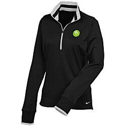 View a larger, more detailed picture of the Nike Contrast Trim Pullover - Ladies
