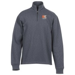View a larger, more detailed picture of the Slub Fleece Pullover - Men s