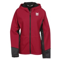 View a larger, more detailed picture of the Incline Soft Shell Jacket - Ladies