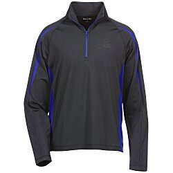 View a larger, more detailed picture of the Sport-Wick Stretch 1 2 Zip Colorblock Pullover - Men s
