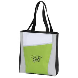 View a larger, more detailed picture of the Accent Panel Tote