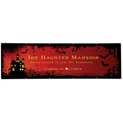 View a larger, more detailed picture of the Value Outdoor Banner - 3 x 10 - 24 hr