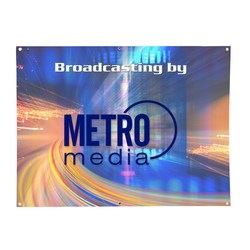 View a larger, more detailed picture of the Value Outdoor Banner - 3 x 4 - 24 hr