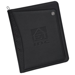 View a larger, more detailed picture of the elleven Vapor Zippered Padfolio