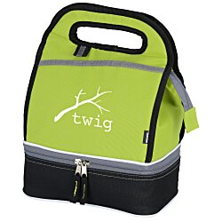 View a larger, more detailed picture of the KOOZIE&reg Duo Lunch Cooler