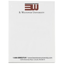 View a larger, more detailed picture of the Notepad - 5-1 2 x 4-1 8 - 50 Sheet