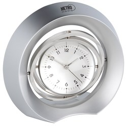 View a larger, more detailed picture of the Gyro Clock and Photo Frame- Closeout