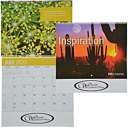 View a larger, more detailed picture of the Inspirational Calendar - Spiral - 24 hr