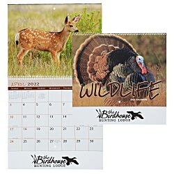 View a larger, more detailed picture of the Wildlife Calendar - Spiral - 24 hr