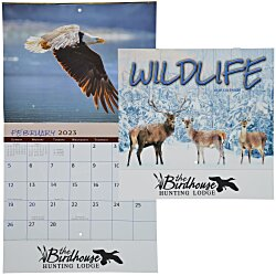 View a larger, more detailed picture of the Wildlife Calendar - Stapled - 24 hr