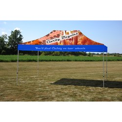 View a larger, more detailed picture of the 10 x 15 Deluxe Event Tent - Full Color