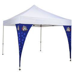 View a larger, more detailed picture of the Tent Corner Banner Kit