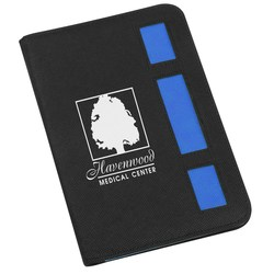View a larger, more detailed picture of the Triplet Accent Jr Padfolio - 24 hr