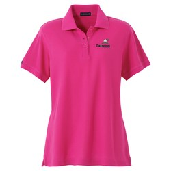 View a larger, more detailed picture of the Madera Pique Polo - Ladies - Closeout Colors