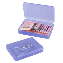 View a larger, more detailed picture of the Compact First Aid Kit - Translucent - 24 hr
