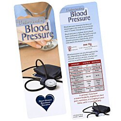 View a larger, more detailed picture of the Just the Facts Bookmark - Blood Pressure