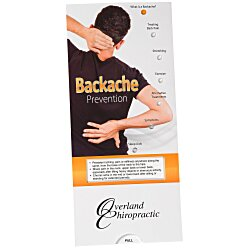 View a larger, more detailed picture of the Backache Prevention Pocket Slider