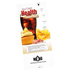 View a larger, more detailed picture of the Preventing Child Obesity Pocket Slider