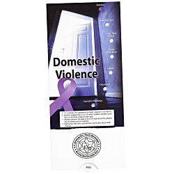 View a larger, more detailed picture of the Domestic Violence Pocket Slider