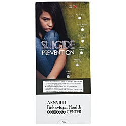 View a larger, more detailed picture of the Suicide Prevention Pocket Slider