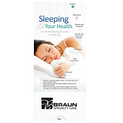 View a larger, more detailed picture of the Sleeping & Your Health Pocket Slider