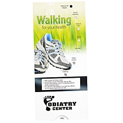 View a larger, more detailed picture of the Walking for Your Health Pocket Slider