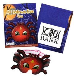 View a larger, more detailed picture of the Coloring Book w Mask - All Hallows Eve Fun