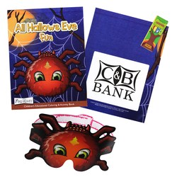 View a larger, more detailed picture of the Coloring Book w Mask & Crayons - All Hallows Eve Fun