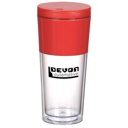 View a larger, more detailed picture of the Color Band Travel Tumbler - 16 oz