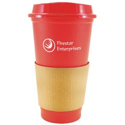 View a larger, more detailed picture of the Sip-n-Style Coffee Tumbler - 16 oz