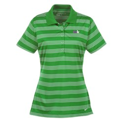 View a larger, more detailed picture of the Nike Tech Stripe Performance Polo - Ladies